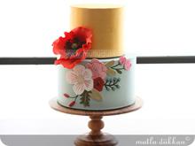 İki Katlı Pasta Kursu PST201 - Çiçek Uygulamalı Pasta